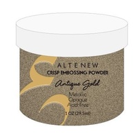 Altenew Embossing Powder Antique Gold Crisp