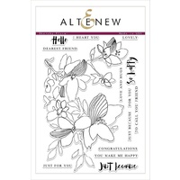 Altenew Sketchy Floral Stamp Set ALT1759