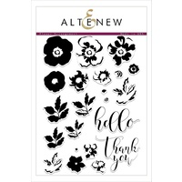 Altenew Flower Arrangement Stamp Set ALT1785