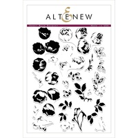 Altenew Sweet Rose Bouquet Stamp Set ALT2099