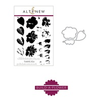 Altenew Build-A-Flower Hibiscus Die and Stamp Set ALT2208