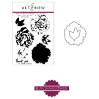 Altenew Build-A-Flower Camellia Die and Stamp Bundle