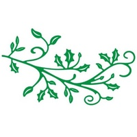 Cheery Lynn Designs B148 Holly Lace Flourish Die
