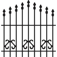 Cheery Lynn Designs B196 Ornamental Gate Die