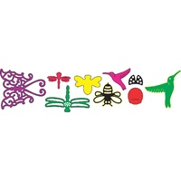 Cheery Lynn Designs B266 Tiny Things With Wings Dies FREE SHIPPING