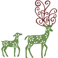 Cheery Lynn Designs B485 Fancy Deer Die FREE SHIPPING