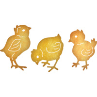 Cheery Lynn Designs B528 Chicks Die Set of 3 FREE SHIPPING