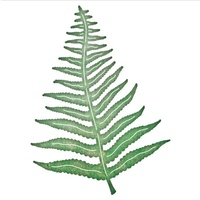 Cheery Lynn Designs B666 Fern Leaf