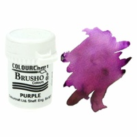 Brusho Crystal Colour 15g Purple