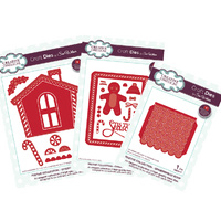 Creative Expressions Dies Gingerbread Man and House Set - 3pk