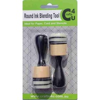 Crafts4U 2 Mini Ink Blending Tool 1inch Round