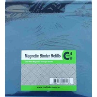 Crafts4U Magnetic Die Storage Binder Refills 10 Pack