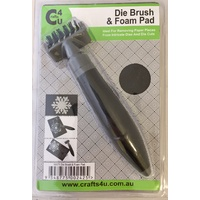 Crafts4U Die Cleaning Brush and Foam Pad