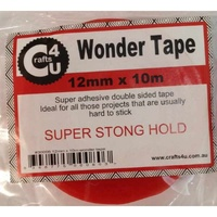 Wonder Tape DoubleSided 12mm x 10m STRONGEST Tape
