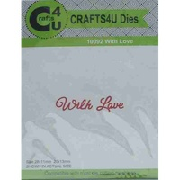 Crafts4U Die Script With Love