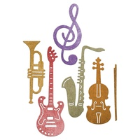 Cheery Lynn Designs Musical Instruments Set CABD-51 FREE SHIPPING