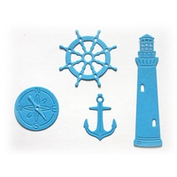 Cheery Lynn Designs Lighthouse Set CABD-57 FREE SHIPPING