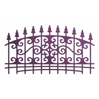 Cheery Lynn Designs Ornamental Fence CABD-67 FREE SHIPPING