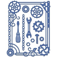 Cheery Lynn Designs Steampunk Frame FR-18 FREE SHIPPING