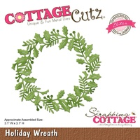 Cottage Cutz Die Holiday Wreath