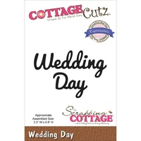 Cottage Cutz Die Expressions Wedding Day Die