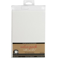 50 Blank White Cards and Envelopes 4X5.5 175gsm
