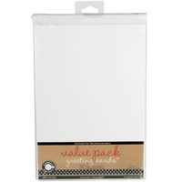 50 Blank White Cards and Envelopes 5x7 175gsm