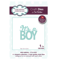 Sue Wilson Dies New Arrival Collection It's A Boy CED10022