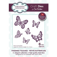 Sue Wilson Dies Finishing Petite Butterflies CED1516