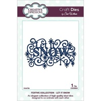 Sue Wilson Dies - Festive Collection Let It Snow CED3004 FREE SHIPPING
