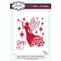 Sue Wilson Dies Festive Collection 2015 Christmas Angel CED3016