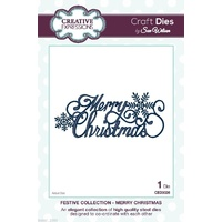 Sue Wilson Dies - Festive Collection Merry Christmas CED3026 FREE SHIPPING