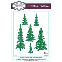 Sue Wilson Dies Festive Collection Winter Trees CED3041