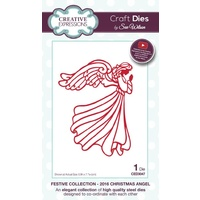 Sue Wilson Dies Festive Collection 2016 Christmas Angel CED3047