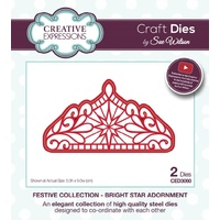 Sue Wilson Dies Festive Collection Bright Star Adornment CED3060