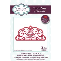 Sue Wilson Dies Festive Collection Christmas Tree Adornment CED3061