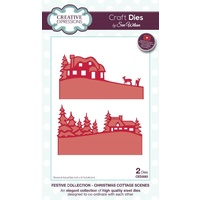 Sue Wilson Dies Festive Collection Christmas Cottage Scenes CED3083