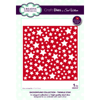 Sue Wilson Dies Background Collection Twinkle Star CED3127