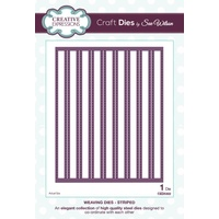 Sue Wilson Dies Weaving Striped CED5302