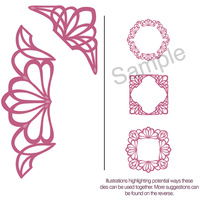 Sue Wilson Dies Configurations Dainty Lace Edger Die CED6402
