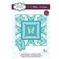 Sue Wilson Dies Background Collection Butterfly Frame CED7105