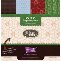 Jillibean Soup 12x12 Embossed Cardstock Core'dinations 20 Sheets