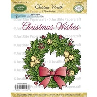 Justrite Stamp Christmas Wreath
