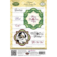 Justrite Stamp Christmas Labels Twenty Two