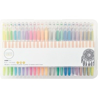 KaiserCraft Gel Pens 48 Pen Set 12 Glitter 12 Pastel 12 Metallic 12 Neon