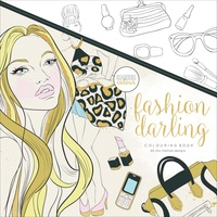 KaiserColour Colouring Book 25cm x 25cm Fashion Darling