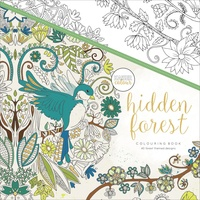 KaiserColour Colouring Book 25cm x 25cm Hidden Forest