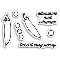 Memory Box Stamp Easy Peasy CL5176