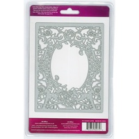 Crafter's Companion Die'sire Dies Create-A-Card Classic Floral Frame