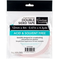 Couture Creations Foam Mounting Tape 12mm x 4m Roll ACID FREE